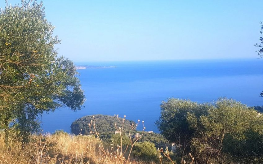 Stunning plot with panoramic sea and countryside views